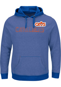 Cleveland Cavaliers Majestic Right Intentions Hooded Sweatshirt - Blue