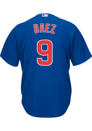 Javier Baez Chicago Cubs Mens Replica Alternate Jersey