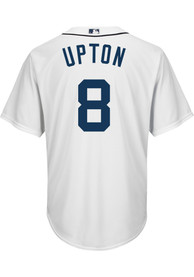 Justin Upton Detroit Tigers Mens Replica Cool Base Jersey Jersey