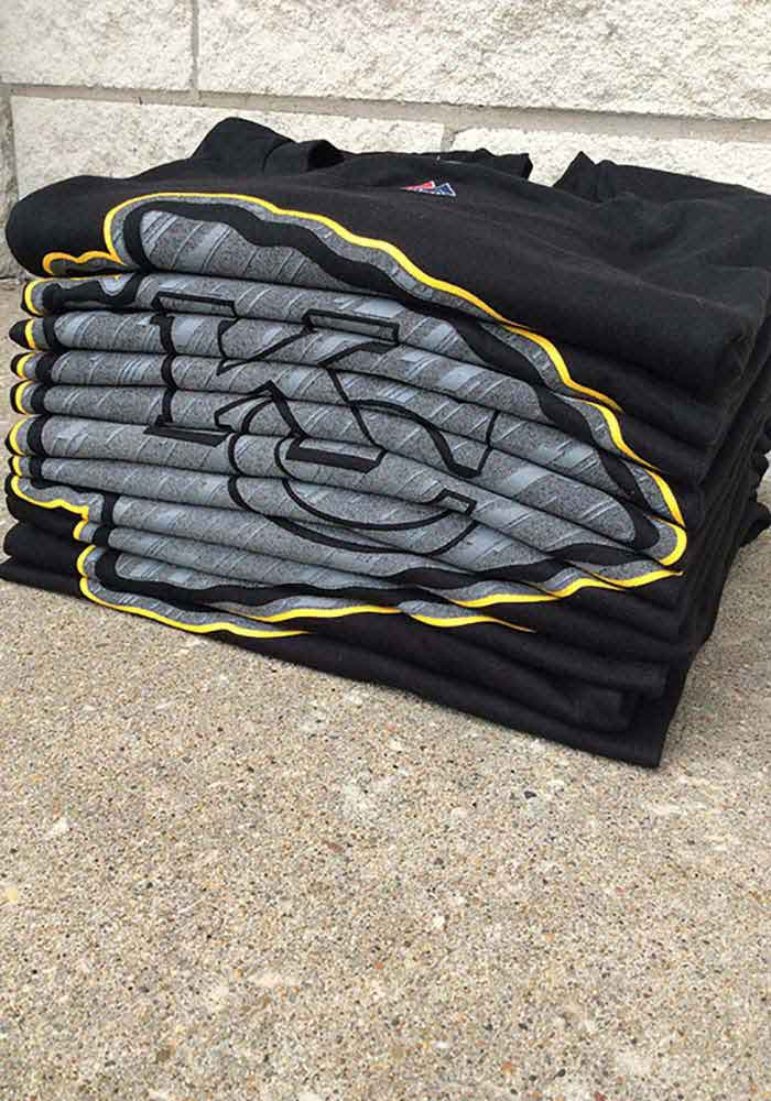 Majestic Kansas City Chiefs Black Primetime Short Sleeve T Shirt - Image 2