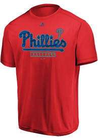 Majestic Philadelphia Phillies Red Official Fandom Tee