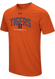 Under Armour Detroit Tigers Orange Performance Arch Tee