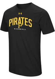 Under Armour Pittsburgh Pirates Black Performance Arch Tee