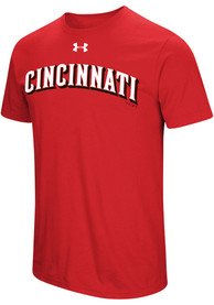 Under Armour Cincinnati Reds Red Passion Team Font Tee