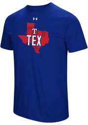 Under Armour Texas Rangers Blue Passion State Tee