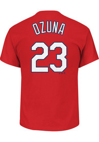Marcell Ozuna St Louis Cardinals Red Player Player Tee