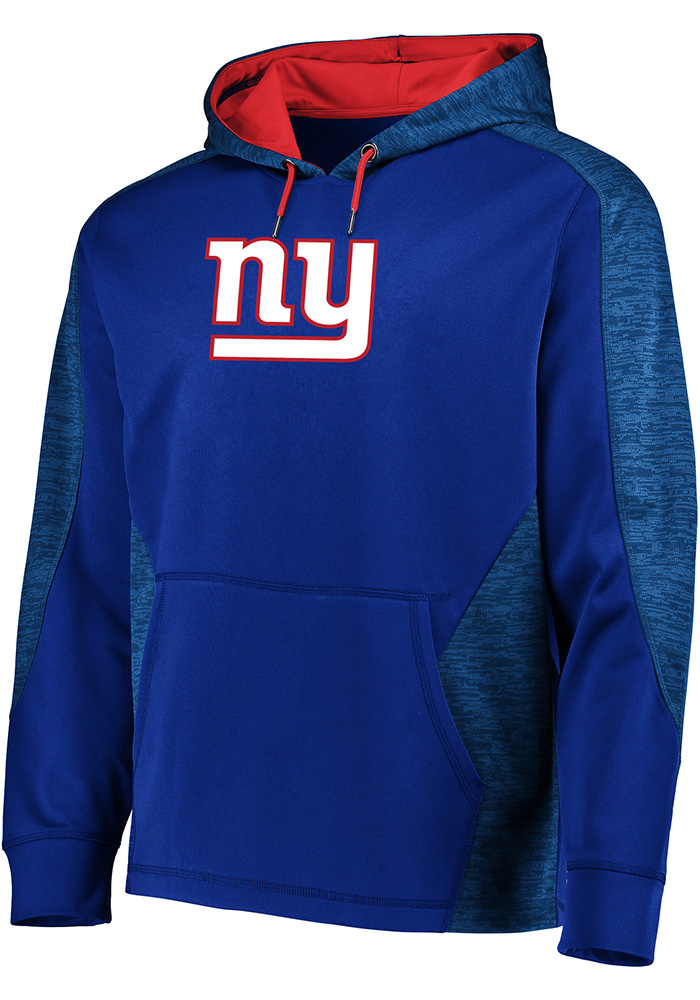 Majestic New York Giants Mens Blue Armour Hood - Image 1