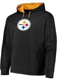 Pittsburgh Steelers Majestic Armour Hood - Black