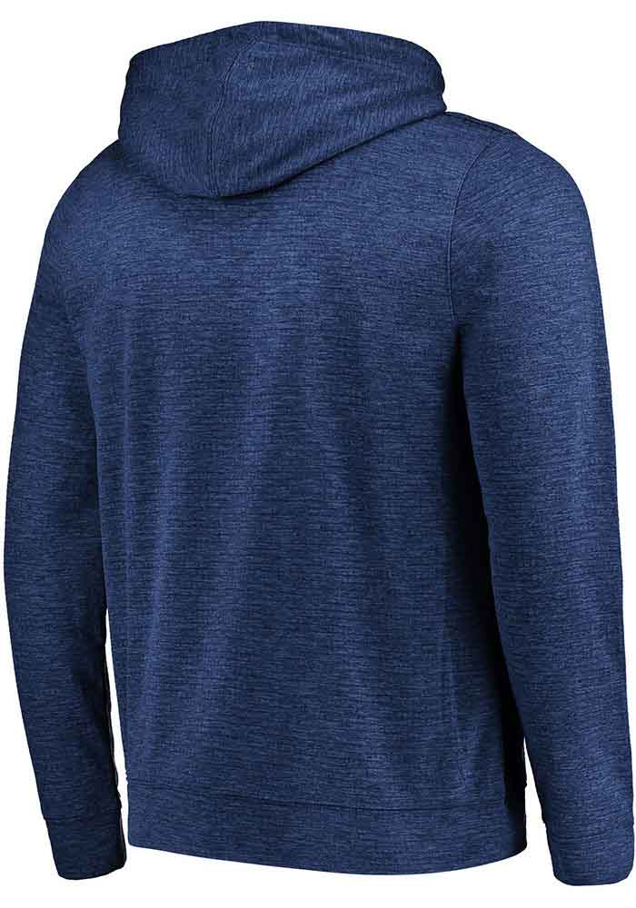 Majestic Chicago Bears Mens Navy Blue Game Elite Long Sleeve Zip - Image 2