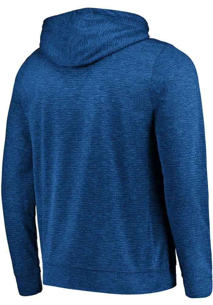 Majestic New York Giants Mens Blue Game Elite Long Sleeve Zip - Image 2