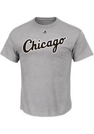 Majestic Chicago White Sox Grey Road Wordmark Tee
