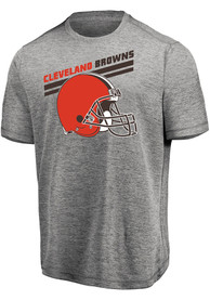 Cleveland Browns Majestic Pro Grade T Shirt - Grey