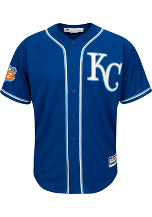 KC Royals Mens Majestic Replica Spring Training Jersey