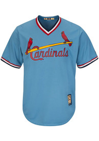 St Louis Cardinals Majestic Cool Base Cooperstown - Blue