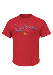 Majestic St Louis Cardinals Red Series Sweep Tee