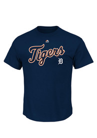 Majestic Detroit Tigers Navy Blue Series Sweep Tee