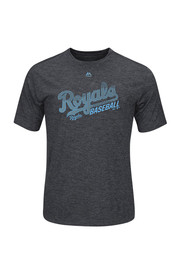 Majestic Kansas City Royals Grey Out of Reach Tee