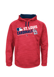 St Louis Cardinals Majestic On-Field Team Choice Hood - Red