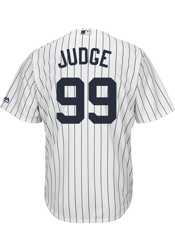 Aaron Judge New York Yankees Mens Replica 2017 Home Jersey - White - Image 1 f29c327c5