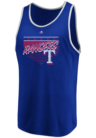 Texas Rangers Majestic Dreams of Victory Tank Top - Red