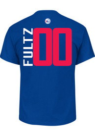 Markelle Fultz Philadelphia 76ers Blue Name and Number Player Tee