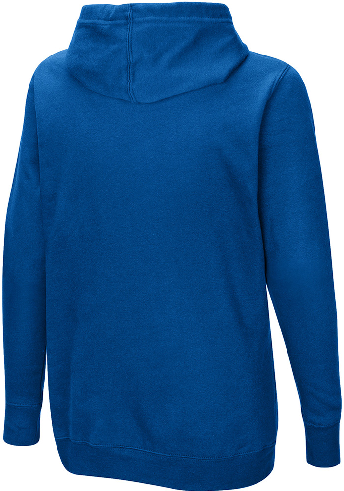 New York Giants Womens Blue Quick Out Hooded Sweatshirt - Image 2