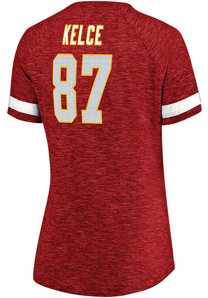 Travis Kelce VF Sports Kansas City Chiefs Womens Red My Guy Player Tee