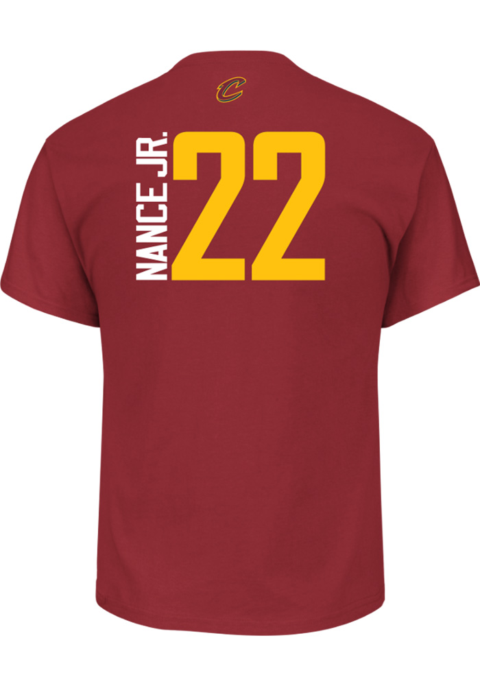 brand new 68a9e e869a Cleveland Cavaliers Maroon Majestic Name & Number Short Sleeve Player T  Shirt