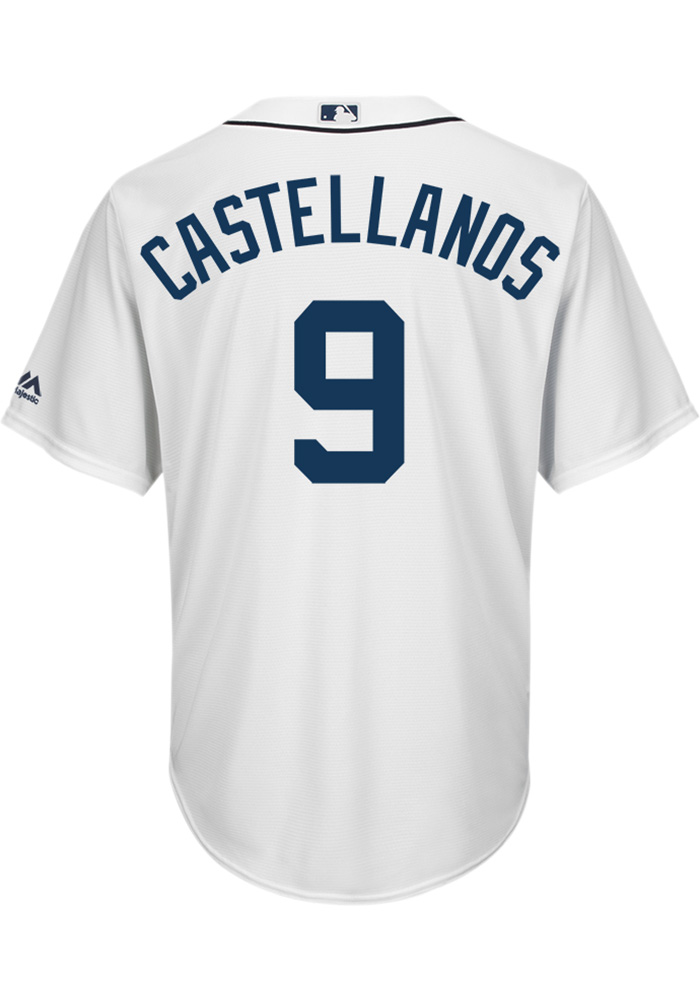 check out 3423f 554d2 Nick Castellanos Detroit Tigers Mens Replica 2018 Home Jersey - White