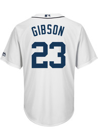 Kirk Gibson Detroit Tigers Majestic 2019 Home Replica - White