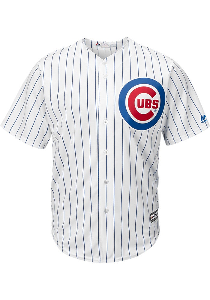 Ian Happ Chicago Cubs Mens Replica 2019 Home Jersey - White - Image 2