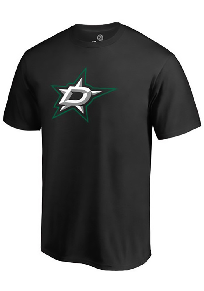 Majestic Dallas Stars Black Number 1 Dad Tee