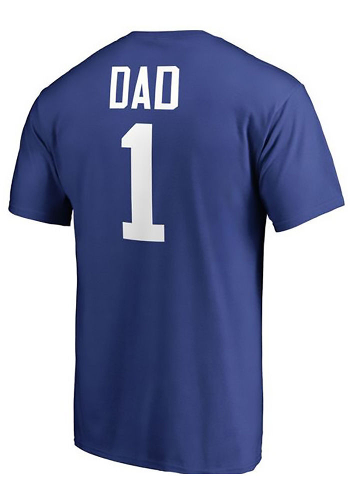 Majestic St Louis Blues Blue Number 1 Dad Tee