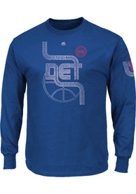 Majestic Detroit Pistons Blue Hungry Tee