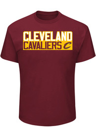 Dwyane Wade Cleveland Cavaliers Red Player Player Tee