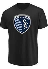 Majestic Sporting Kansas City Black Shielded Fashion Tee