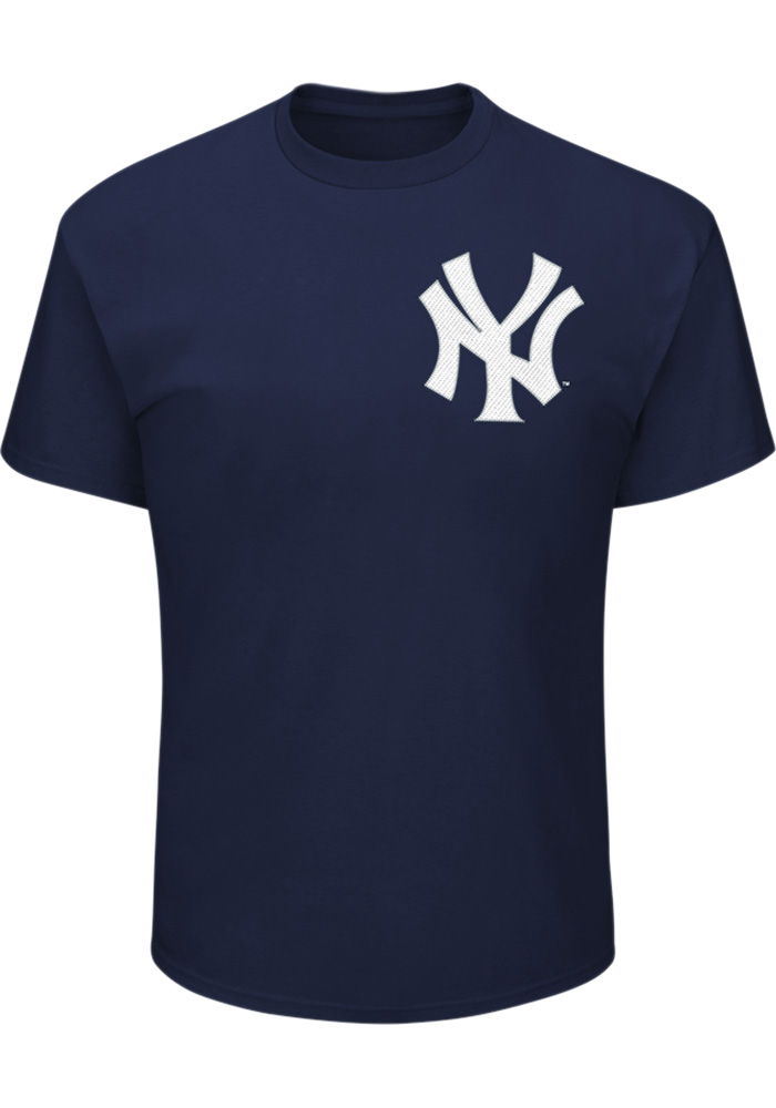 Giancarlo Stanton New York Yankees Navy Blue Name & Number Short Sleeve Player T Shirt - Image 2