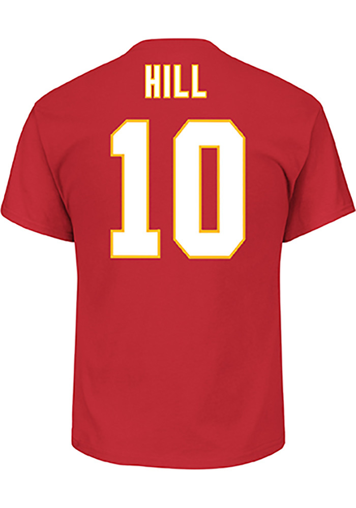 Tyreek Hill Kansas City Chiefs Red Eligible Receiver Player Tee 524db9d60