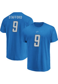 Matthew Stafford Detroit Lions Majestic Eligible Receiver T-Shirt - Blue