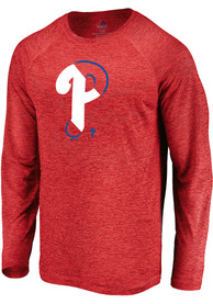 Philadelphia Phillies Majestic Vital To Success T-Shirt - Red