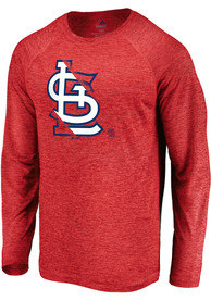 St Louis Cardinals Majestic Vital To Success T-Shirt - Red