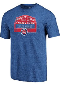Chicago Cubs Majestic Hometown Fashion T Shirt - Blue