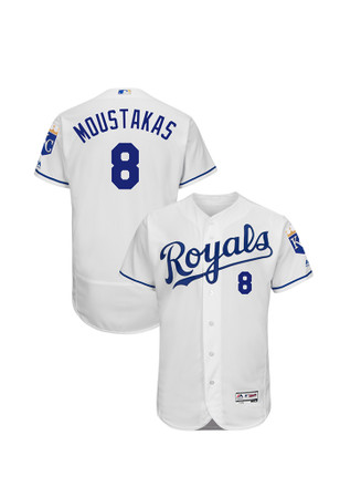 Mike Moustakas KC Royals Mens Authentic Flexbase Jersey