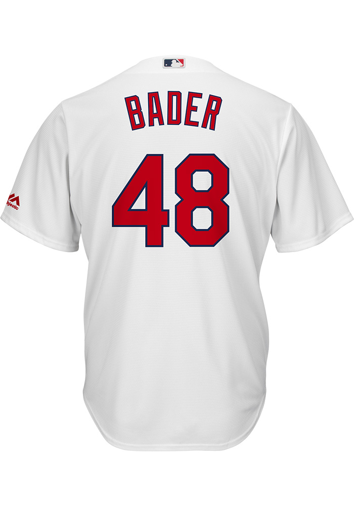 Harrison Bader St Louis Cardinals Mens Replica 2018 Home Jersey - White - Image 1