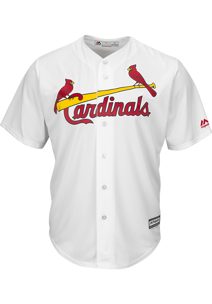 Harrison Bader St Louis Cardinals Mens Replica 2018 Home Jersey - White - Image 2