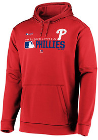 Philadelphia Phillies Majestic Authentic Players Hood - Red