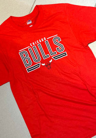 Chicago Bulls Majestic On To The Win T Shirt - Black