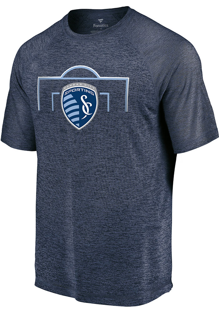 Sporting Kansas City Navy Blue Just Getting Started Short Sleeve T Shirt - Image 1