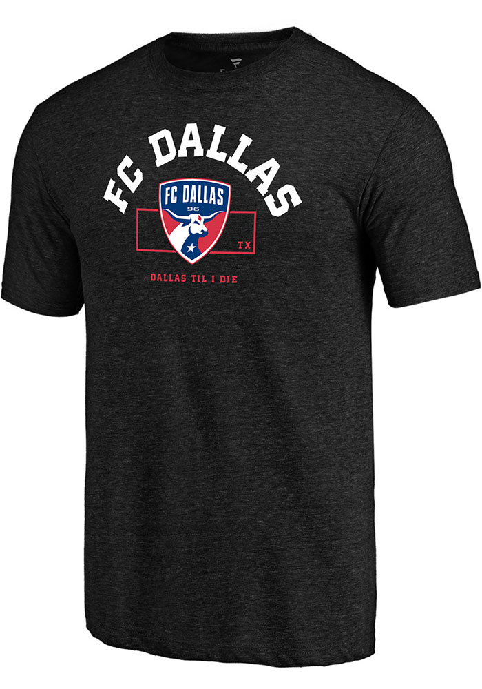 FC Dallas Building Strategy T Shirt - Black