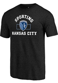 Sporting Kansas City Building Strategy T Shirt - Black